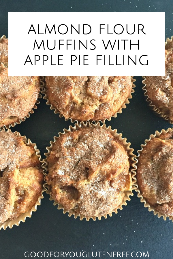 Almond Flour Muffins with Apple Pie Filling