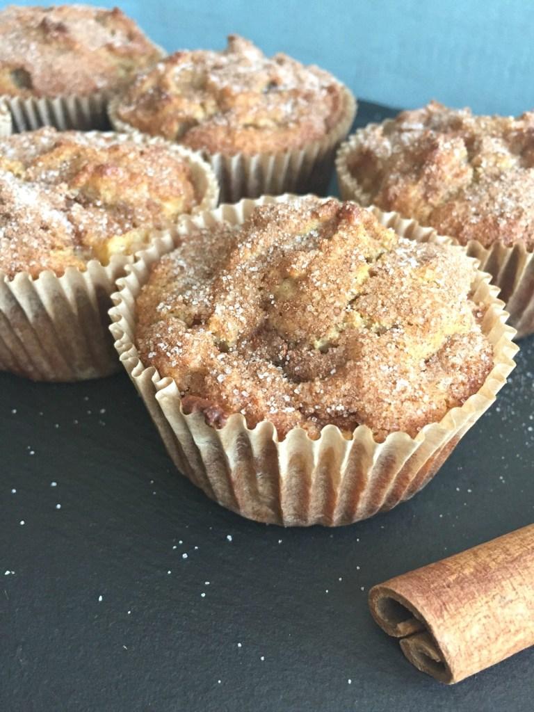 Gluten-Free Apple Pie Muffins with Almond Flour 4