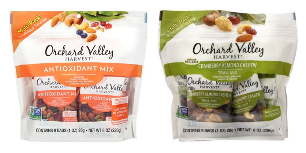 Gluten-Free Snack Ideas Orchard Valley Snack Packs