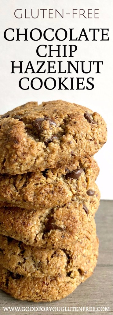 Hazelnut Flour Chocolate Chip Cookie Recipe - Good For You Gluten Free