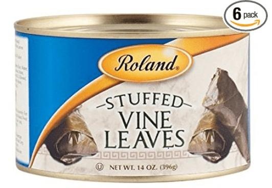 Gluten-Free Snack Ideas: Dolmas