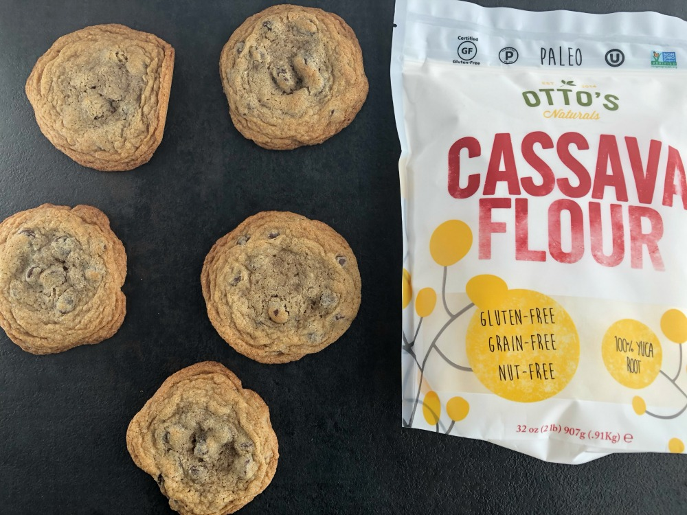 Cassava Flour Chocolate Chip Cookies II - 1