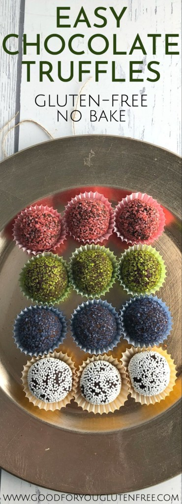 Easy Chocolate Truffles - Good For You Gluten Free