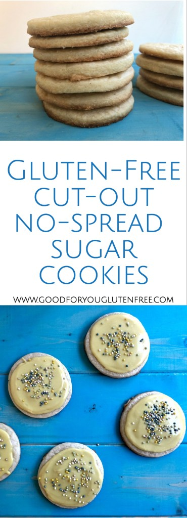 Gluten-Free Sugar Cookies Recipe - Good For You Gluten Free #glutenfreecookies #sugarcookies #glutenfreerecipes