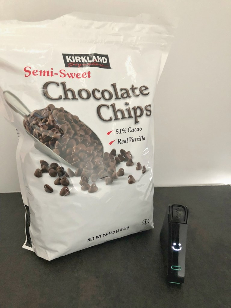 Nima reveals that the Kirkland chocolate chips are gluten free