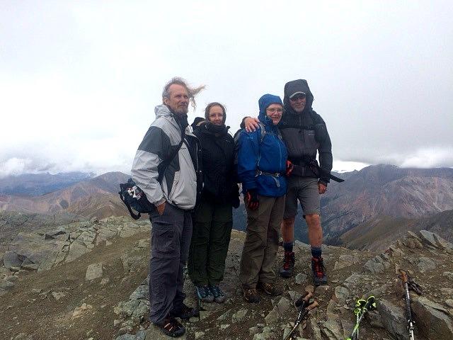 Cynthia Kupper_Top Of Handy - 14000 Feet high!