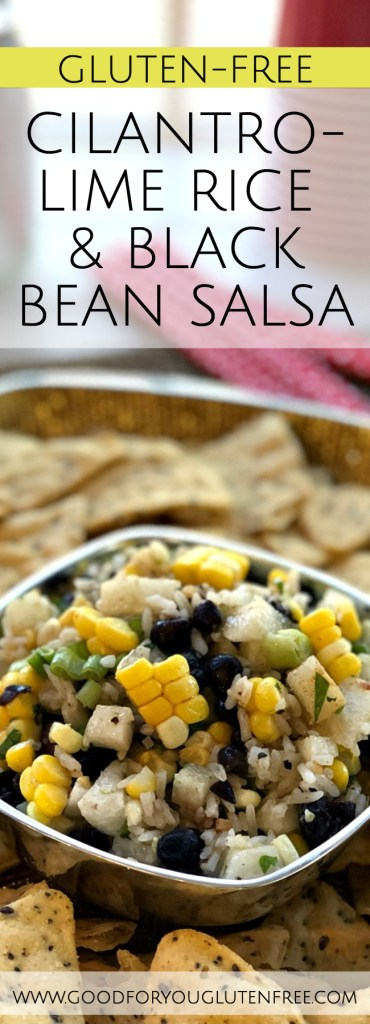 Cilantro-Lime Rice and Black Bean Salsa - Good For You Gluten Free