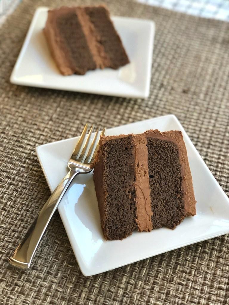 Gluten-Free Devils Food Cake 12
