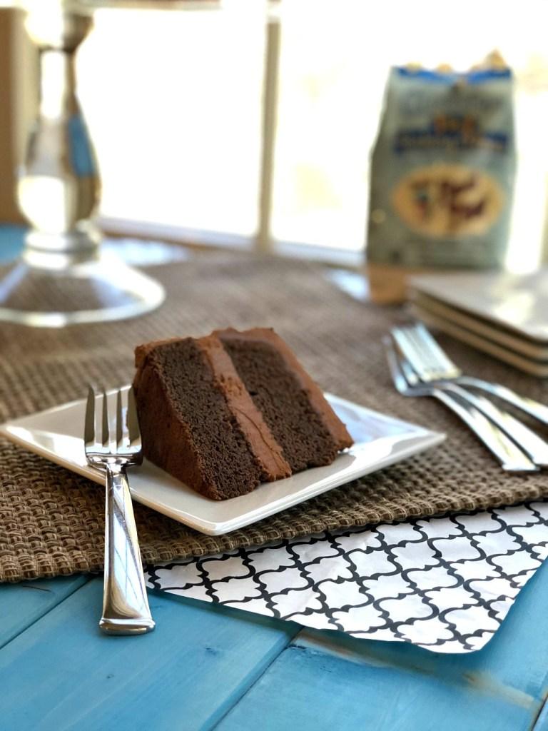 Gluten-Free Devils Food Cake Recipe 9