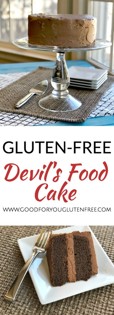 Gluten-Free Devil's Food Cake Recipe 1 - Good For You Gluten Free