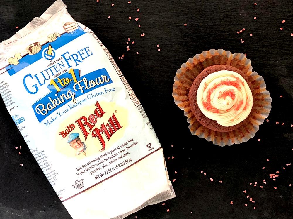 Gluten-Free Red Velvet Cupcakes 6