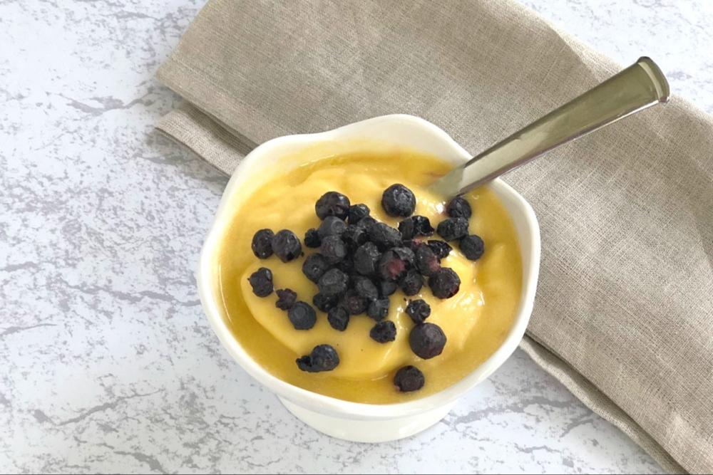 Homemade Mango Sorbet Recipe header