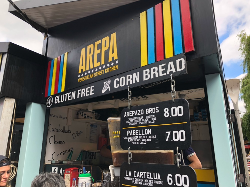 Arepa at Camden Market 1