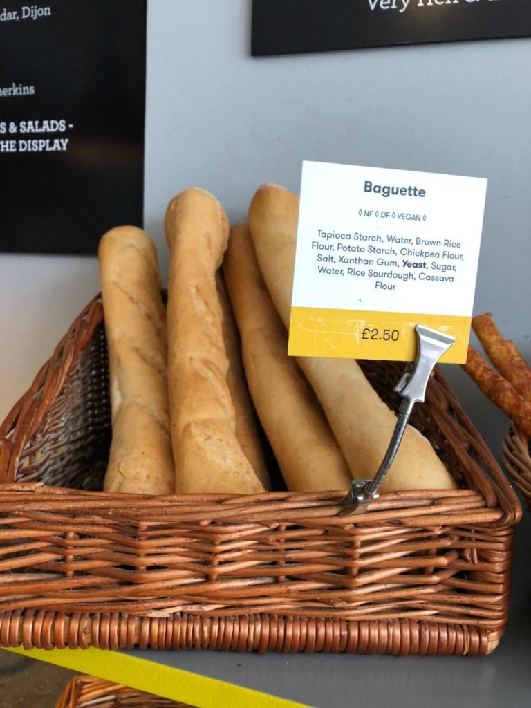 Beyond Bread gluten-free bakery in London 1