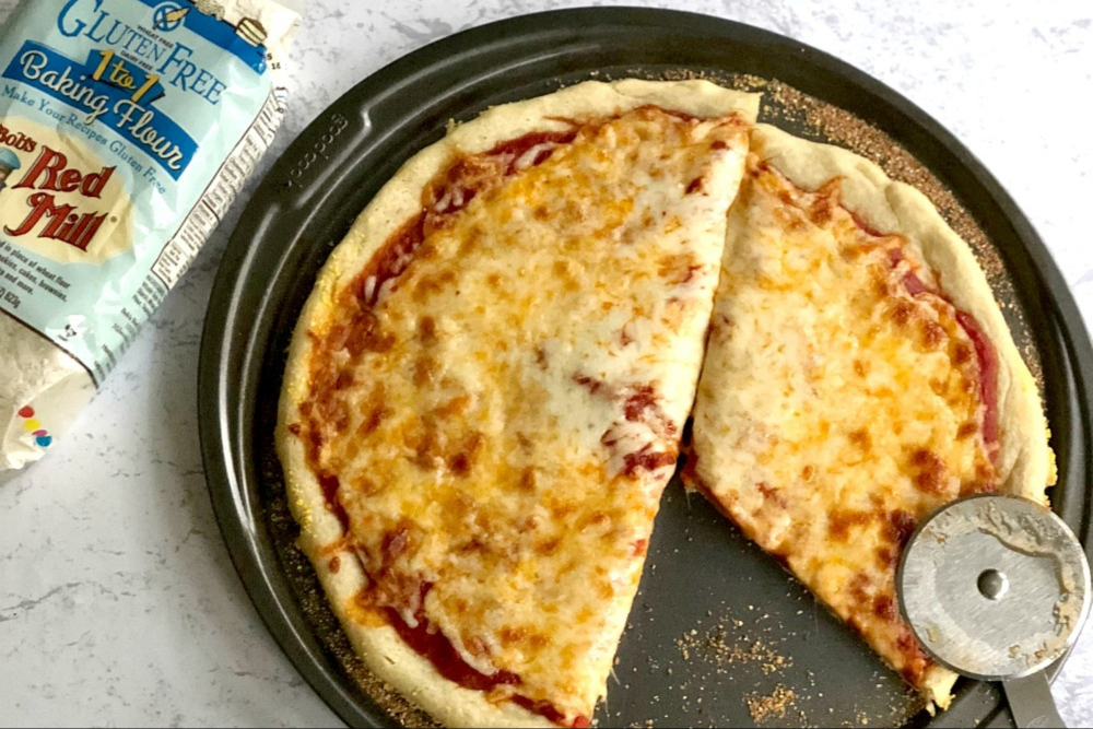 Gluten-Free Pizza Crust header
