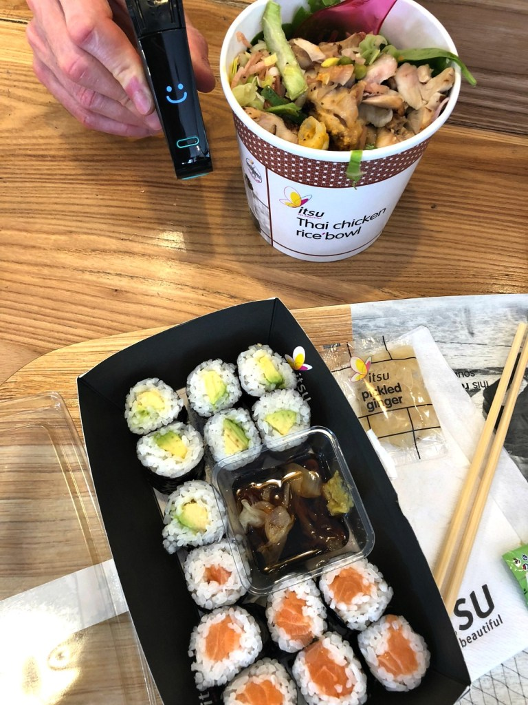 Itsu gluten-free restaurant in london