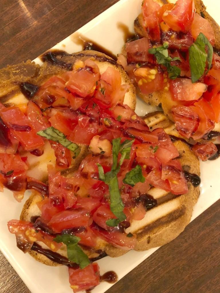 Leggero Bruschetta - gluten-free restaurant in London