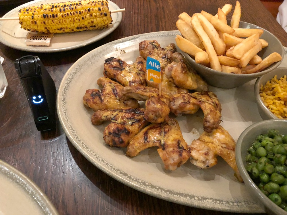 Nandos gluten-free restaurant in london