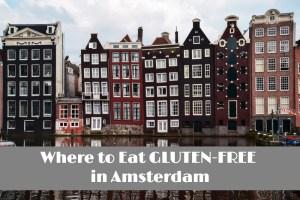 Gluten-Free restaurants in Amsterdam header