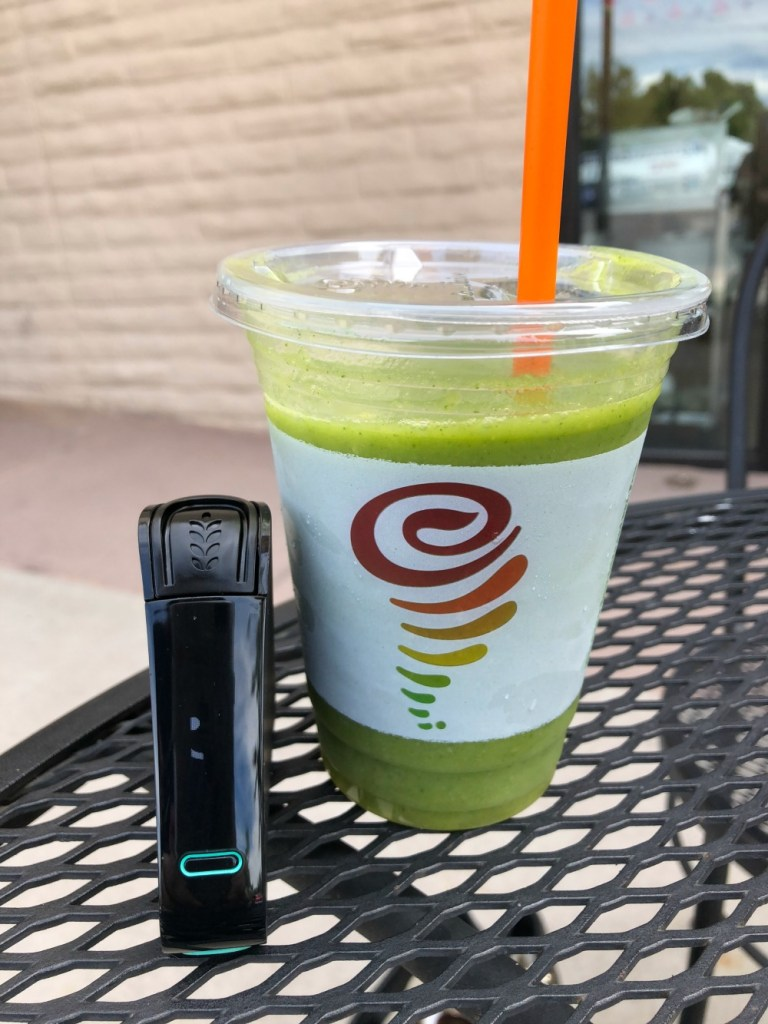 Ginger Green Smoothie Nima Sensor Tested