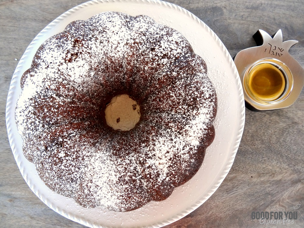 Gluten-Free Honey Bundt Cake for Rosh Hashanah 1