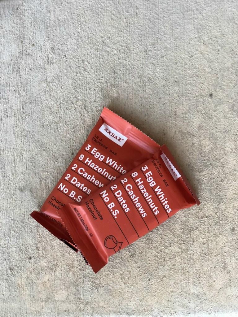 RX Bars - Whole 30 Snack ideas
