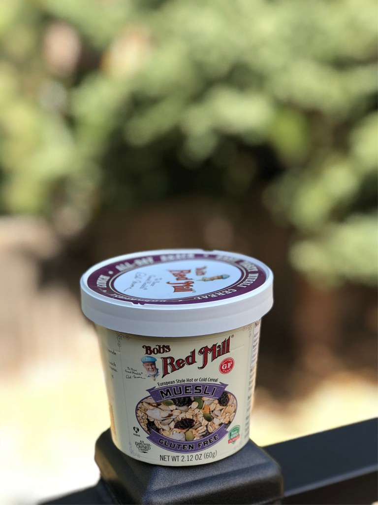 Bob's Red Mill gluten-free muesli cups 7