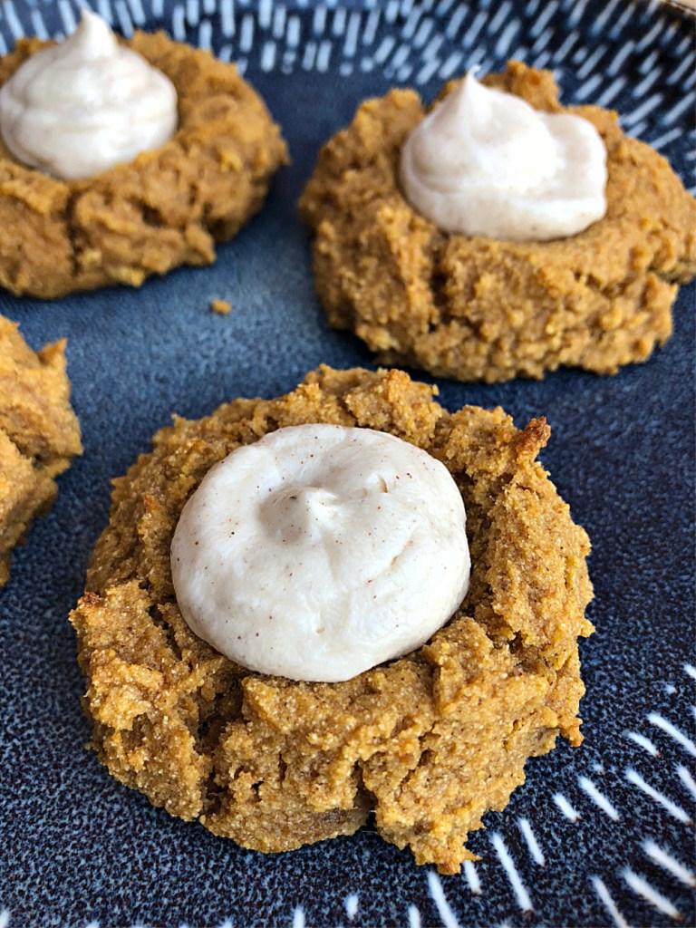 Gluten-Free Pumpkin Thumbprint Cookies 2
