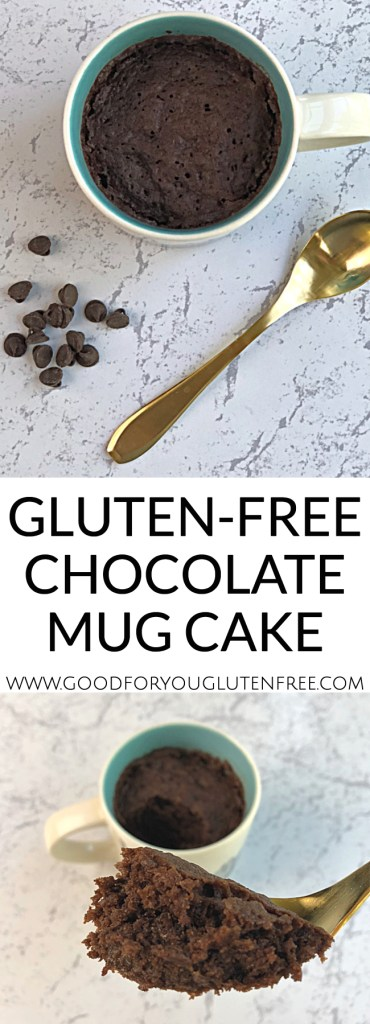 Gluten-Free Chocolate Mug Cake - Good For You Gluten Free