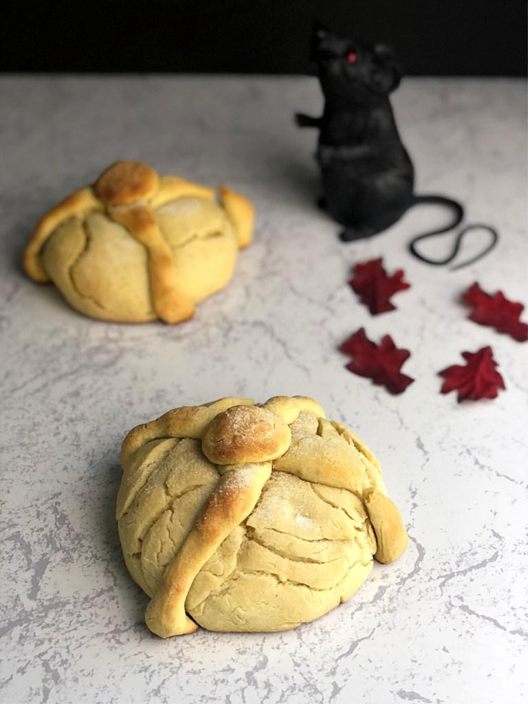 Gluten-Free Day of the Dead Bread 2