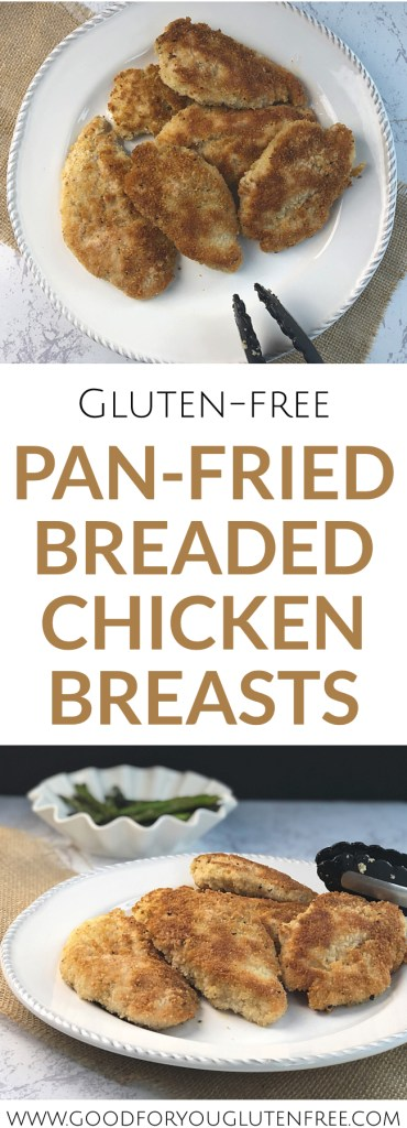 Gluten-Free Pan Fried Chicken Breasts Recipe - Good For You Gluten Free