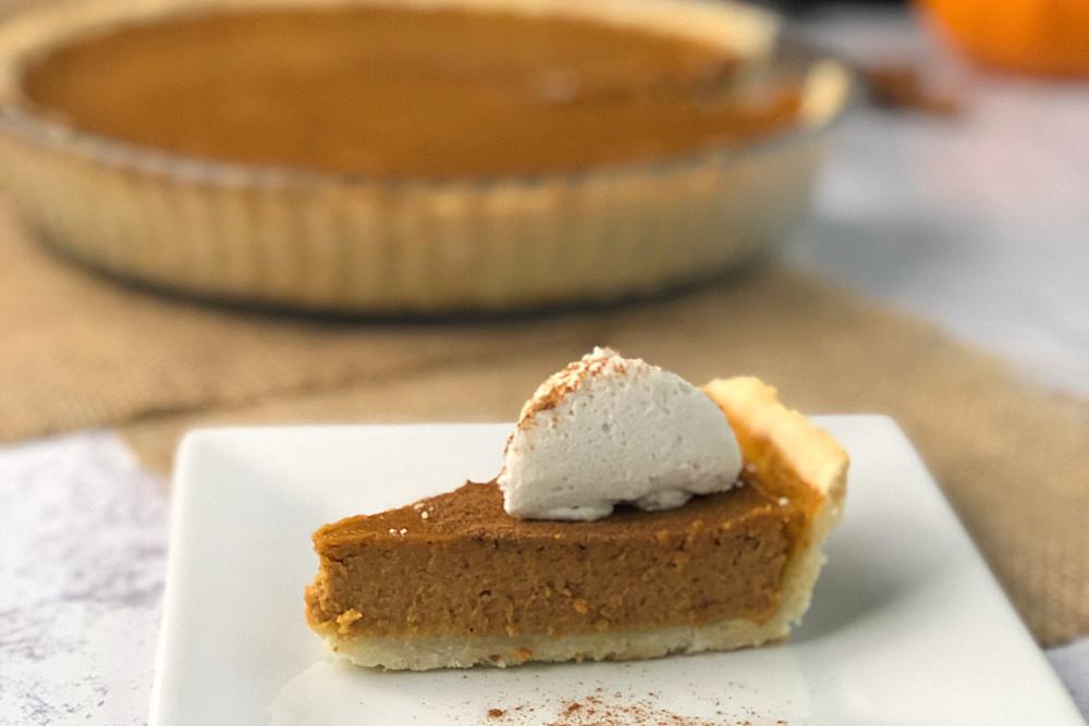 Gluten-Free Pumpkin Pie Recipe header
