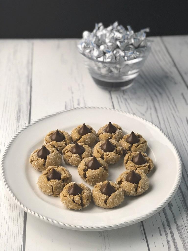 Gluten-free peanut butter blossoms recipe 1