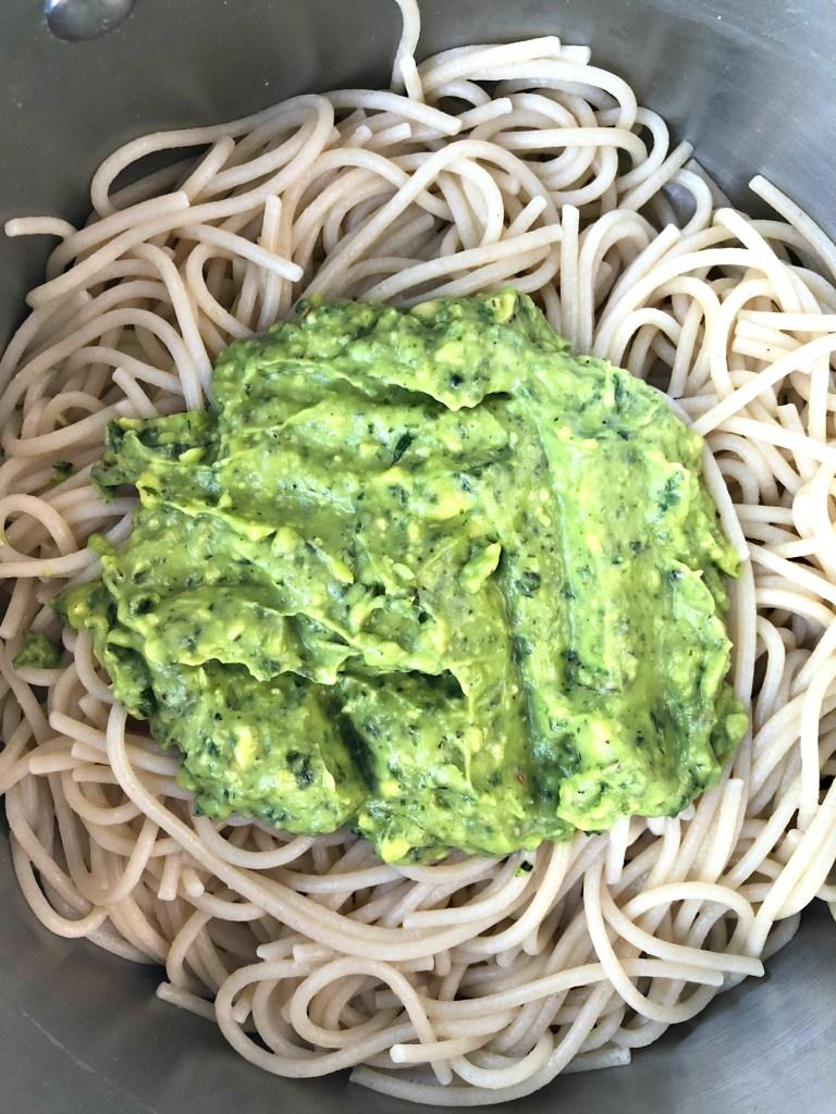 Gluten-Free Avocado Pesto Pasta 1