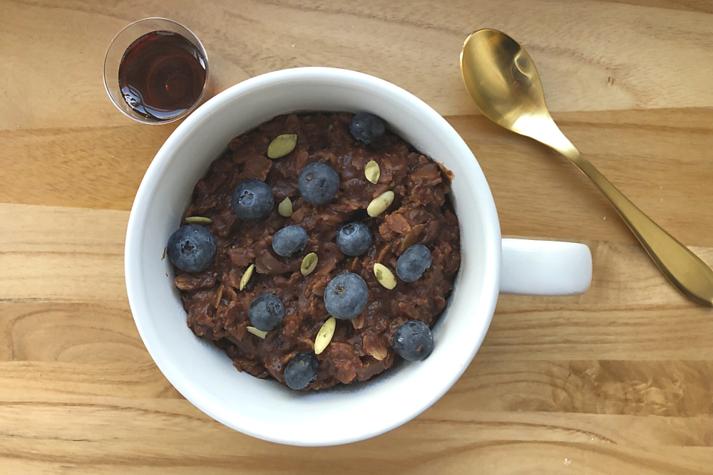 Gluten-Free Chocolate Oatmeal header