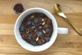 Gluten-Free Chocolate Oatmeal header
