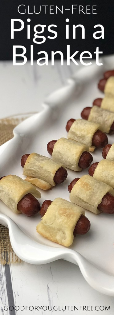 Gluten-Free Pigs in a Blanket - Good For You Gluten Free #glutenfreerecipes #glutenfreeappetizers