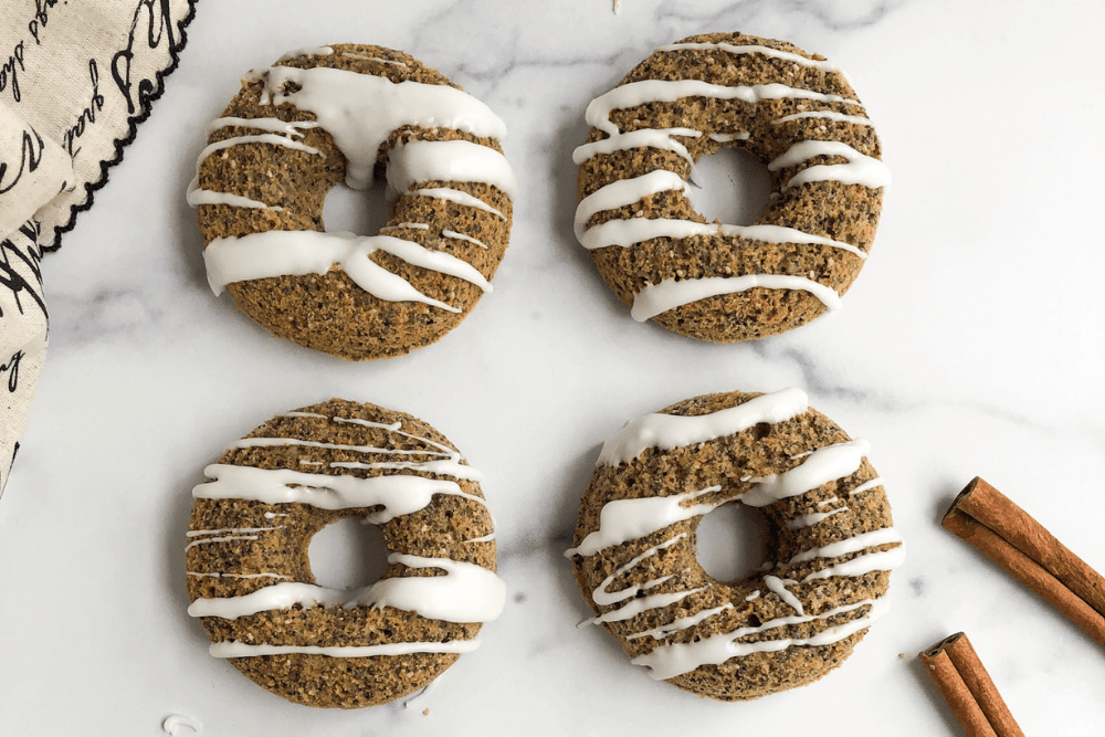 Gluten-Free Breakfast Donuts Made with Oat Flour
