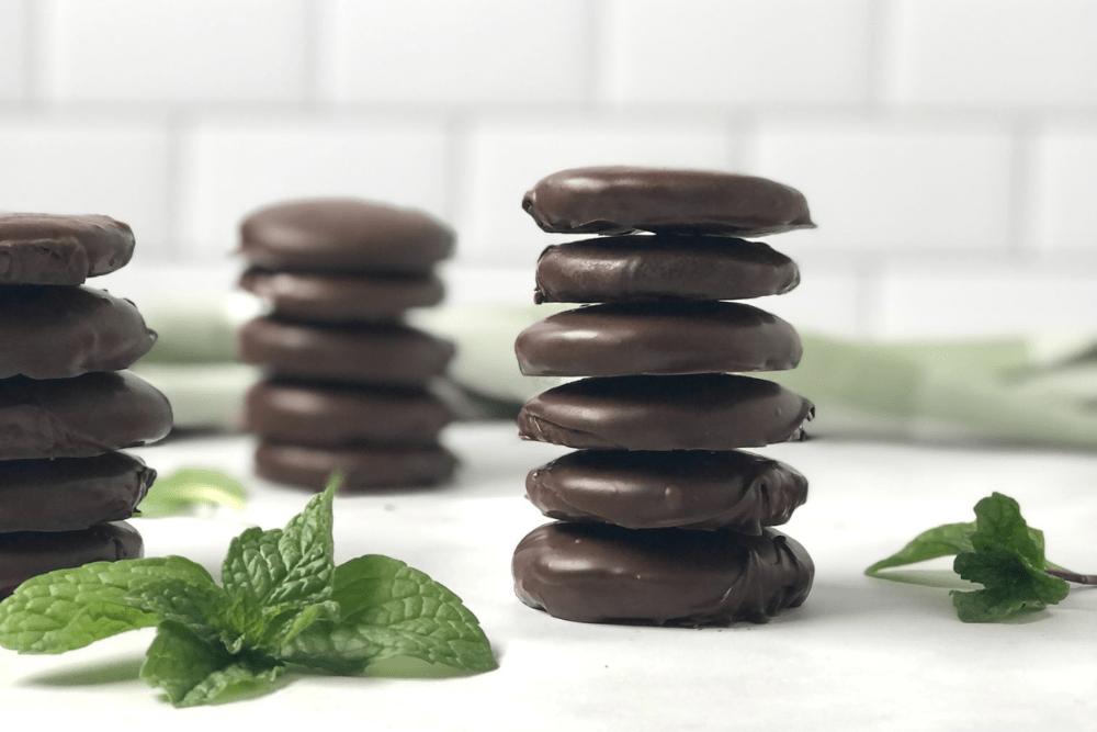 Copycat Gluten-Free Thin Mints