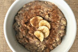 Gluten-Free Banana Oatmeal Recipe header