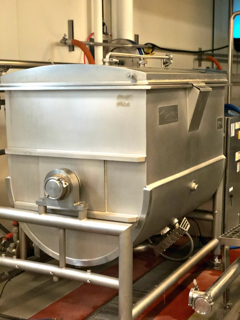 Boulder Organic soup is made in these vats in small batches