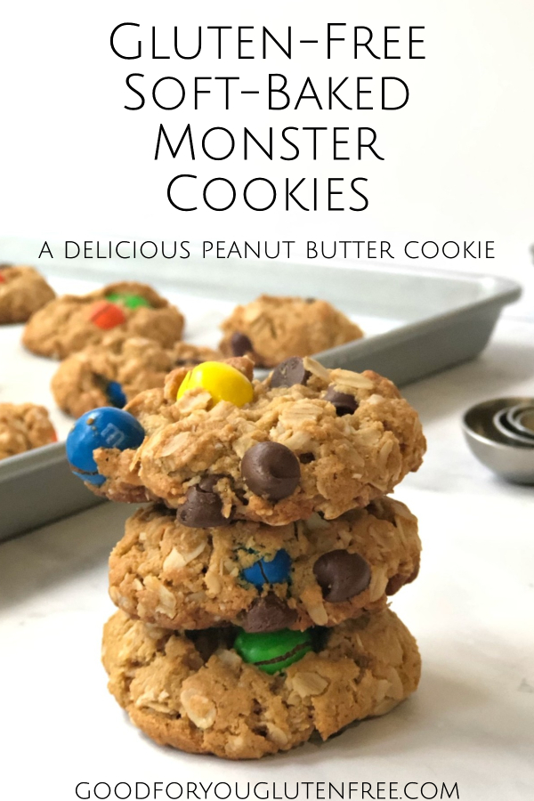 Gluten-Free Monster Cookies Pinterest Image