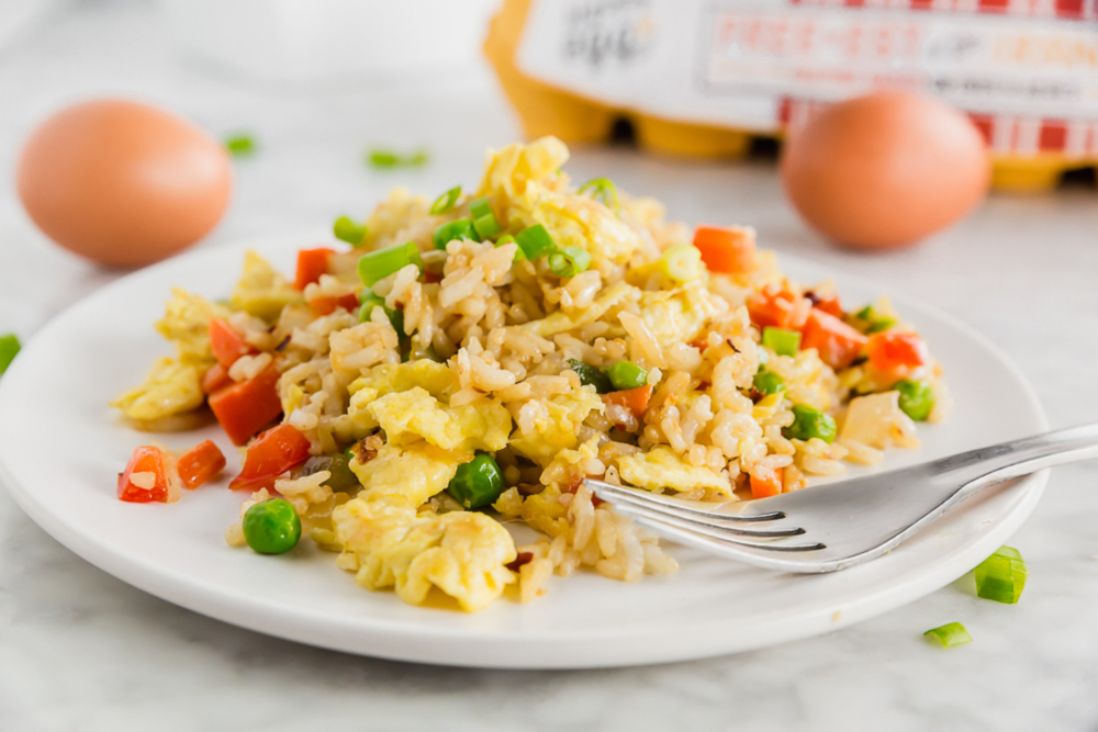 Gluten-Free Egg Fried Rice
