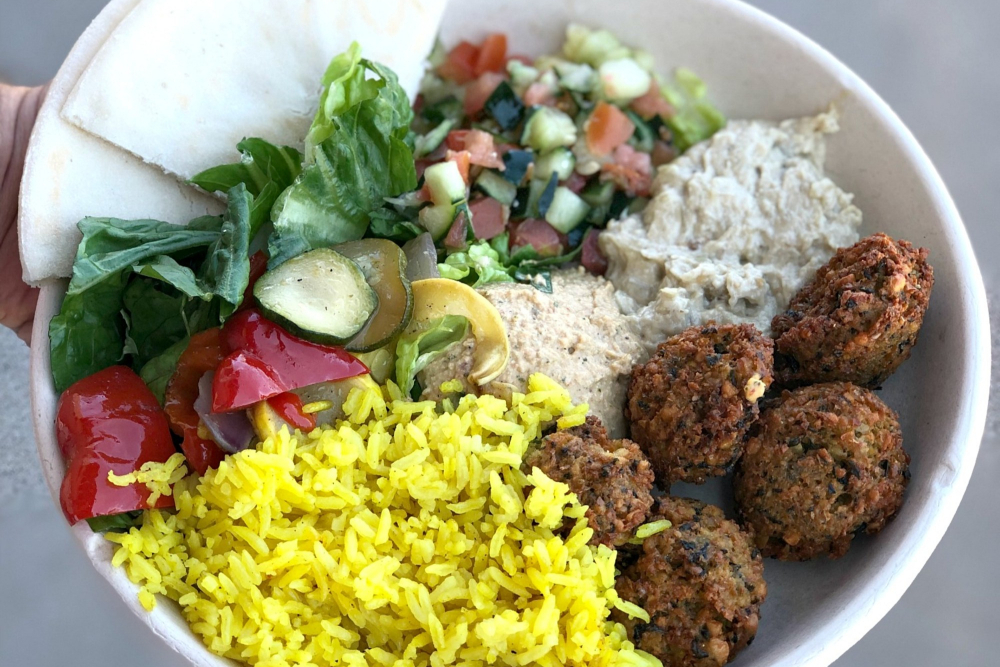 What's Gluten-Free at Garbanzo Mediterranean Restaurant?