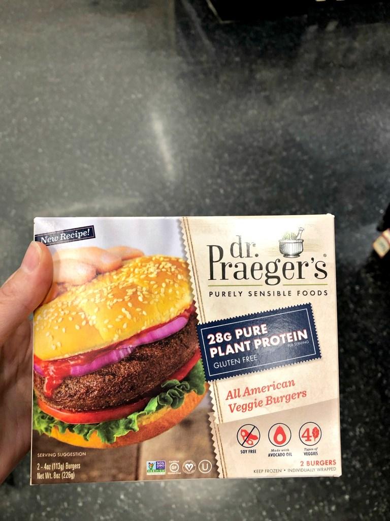 Dr Praeger's plant protein gluten free