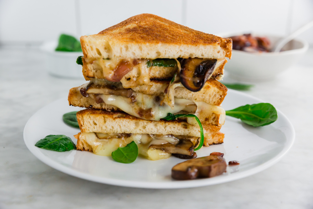 Ridiculously Tasty Grilled Cheese Sandwich