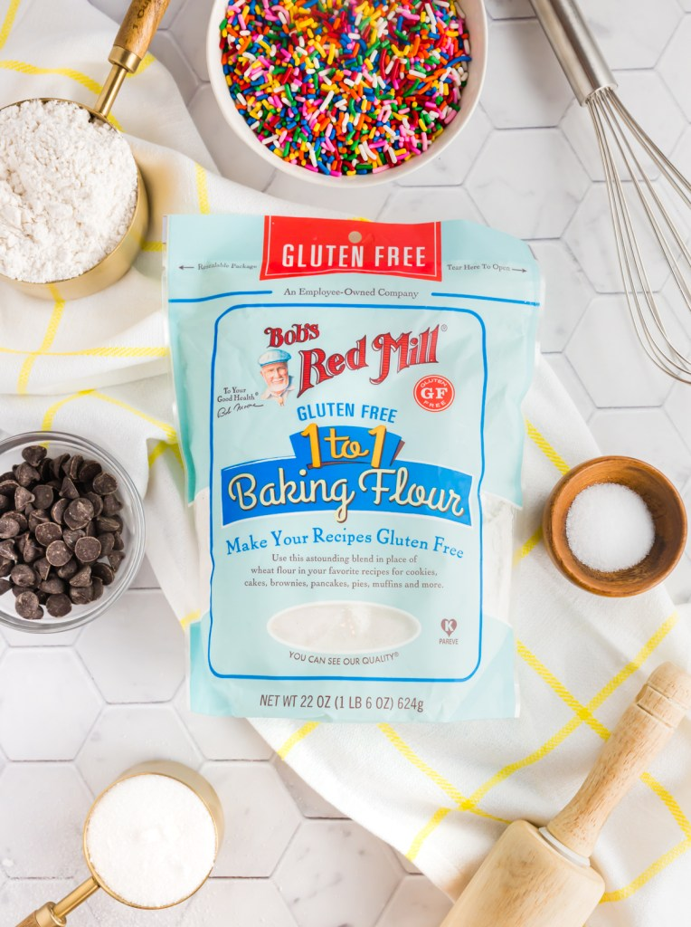 Picture of Bob's Red Mill 1:1 gluten-free baking flour in post about best gluten-free products