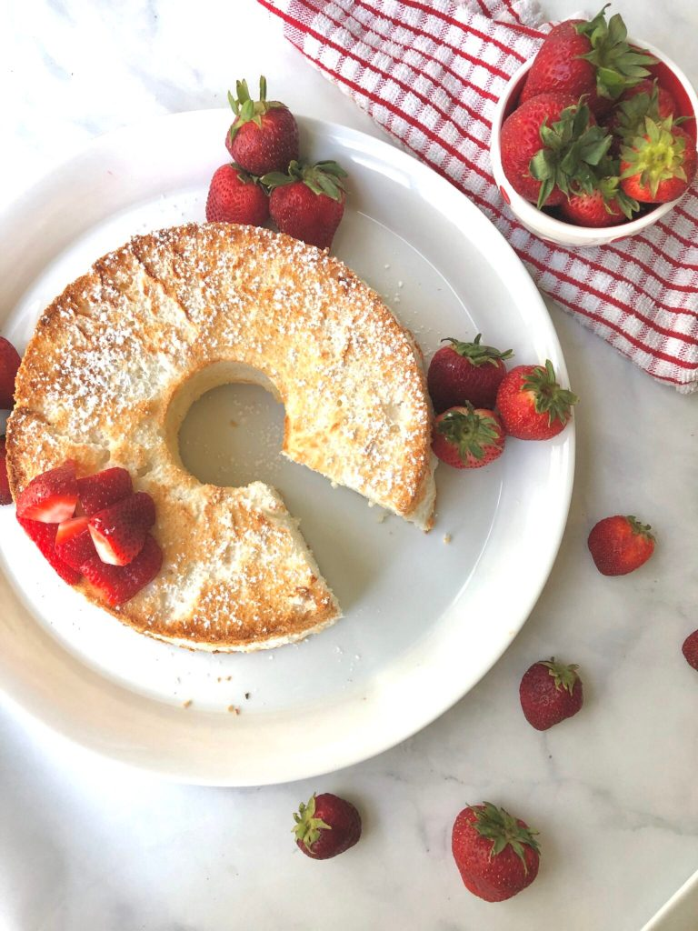 Gluten-free Angel Food Cake by Good For You Gluten Free