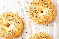 Gluten-free bagel recipe header
