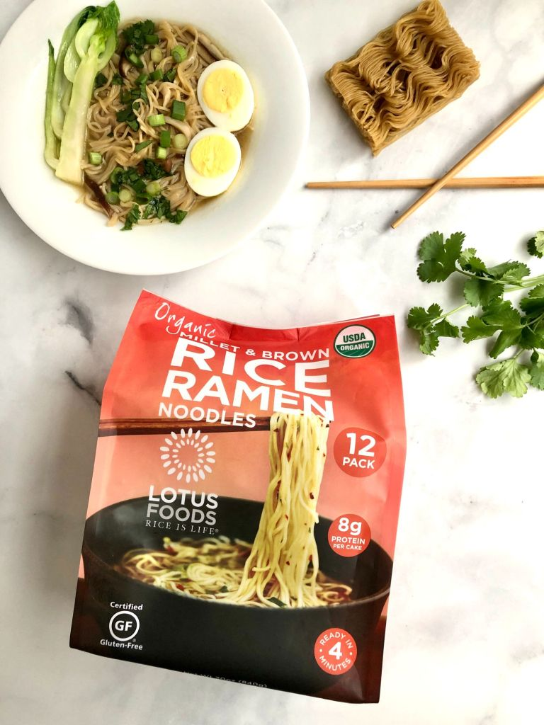 Picture or Lotus Foods Rice Ramen packaging